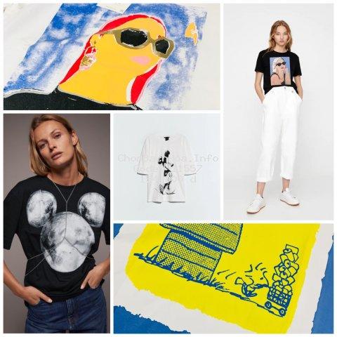 Áo thun Zara nữ mẫu mới 2020 - Vải cotton 4 chiều xuất khẩu chất lượng.