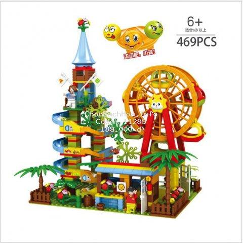 Bộ Lego  [???? ????] Có bi lăn 469 chi tiết giúp phát triển sức sáng tạo vào giải trí cho bé