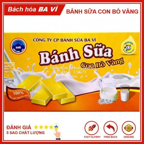 [Đặc Sản Ba Vì] Bánh Sữa Con Bò Vàng 170g