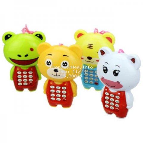 Điện thoại hình thỏ đồ chơi có nhạc cho bé