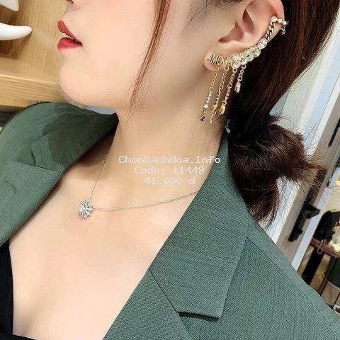 Hoa tai bông tai thời trang đính đá BT109 Kydostore - Phụ kiện thời trang nữ 2021