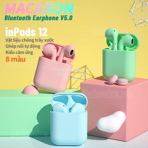 inpods 13 pro Tai nghe không dây Inpods12 12s TWS kết nối Bluetooth 5.0 Warna Macaron HIFI