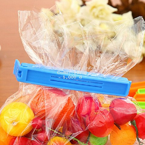 Kẹp bằng nhựa để đóng túi trong suốt tiện dụng và bền
