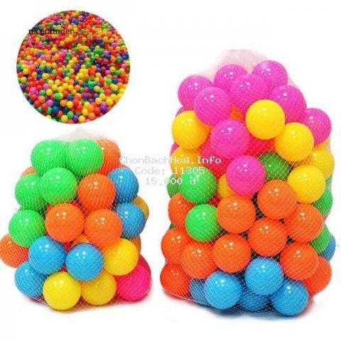 [Mã TOYNOV hoàn 20K xu đơn 50K] Đồ chơi bóng nhựa cho bé (set 15 quả)