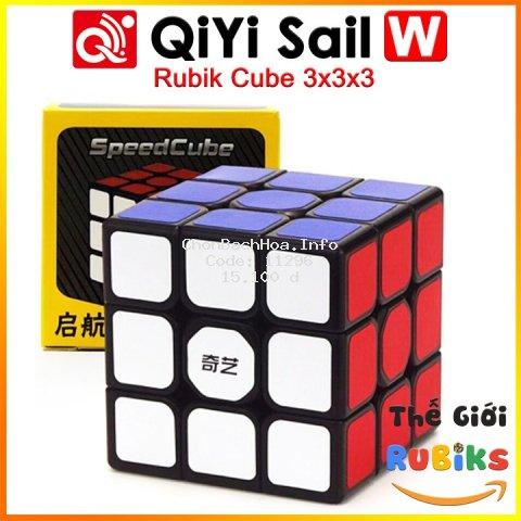 [Mã TOYNOV hoàn 20K xu đơn 50K] Rubik 3x3 QiYi Sail W 3x3x3