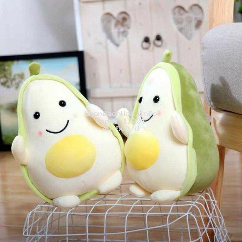 [Mã TOYNOV hoàn 20K xu đơn 50K] Trái cây bơ nhồi bông mini cute