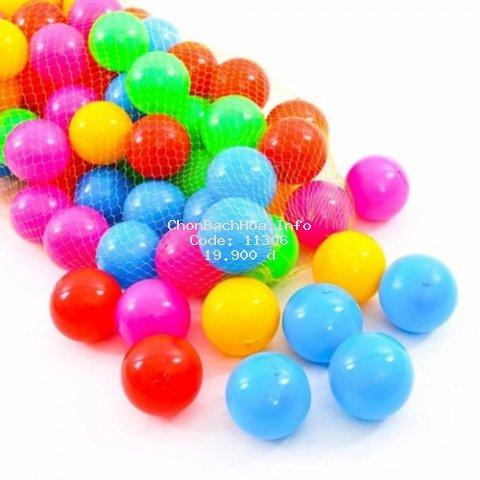[Mã TOYNOV hoàn 20K xu đơn 50K] Túi 20 quả bóng nhựa Việt Nam nhiều màu