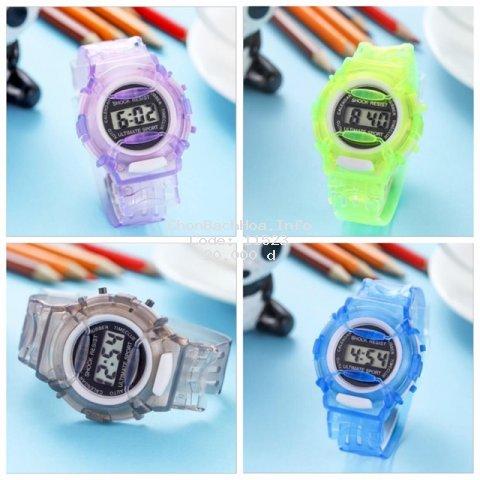 [Mã WTCHNOV11 giảm 15% đơn 99K] Đồng hồ nam nữ điện tử dây nhựa dẻo LCD/ULTIMATE SPORT