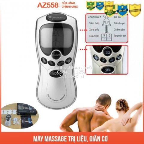 Máy Massage trị liệu 4 miếng dán, giảm đau lưng, đau xương khớp