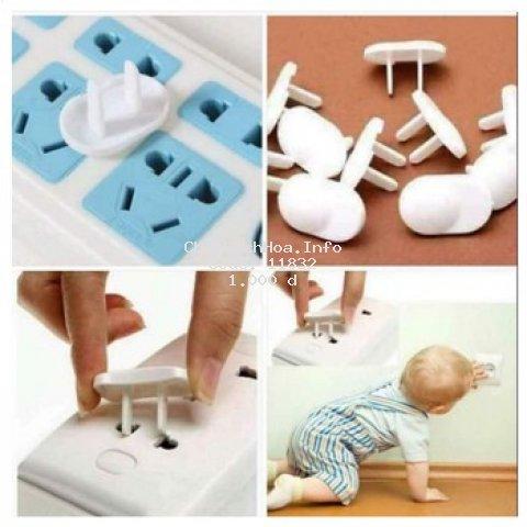 Nút bịt ổ điện an toàn cho bé