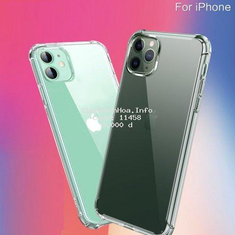 Ốp Lưng Iphone Nhựa TPU Trong Suốt Chống Va Đập Bảo Vệ Điện Thoại