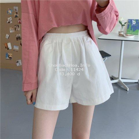 Quần short nữ lưng thun nhiều màu [vayplus]