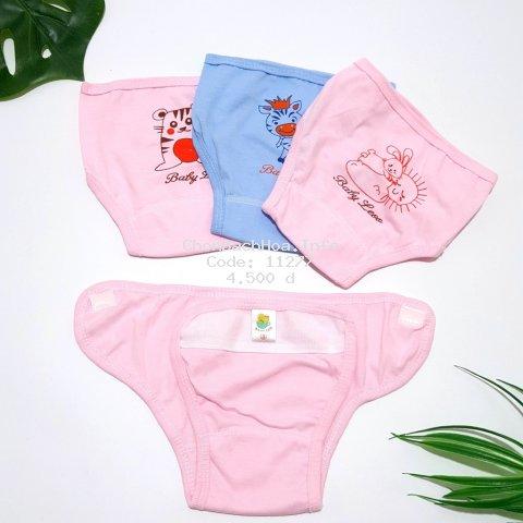 [SALE SẬP SÀN] Quần đóng bỉm baby Leo, quần dán bỉm cho trẻ sơ sinh size 1,2,3 cho bé 3 đến 8kg