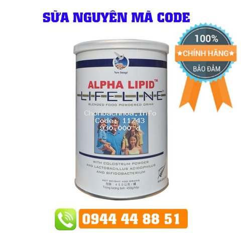 Sữa Non Alpha Lipid Nguyên Mã Code 450g Của New Zealand