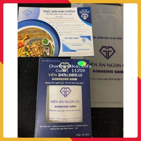 Viên ăn ngon GG Chính Hãng kèm thẻ bảo hành (Hộp 30viên)