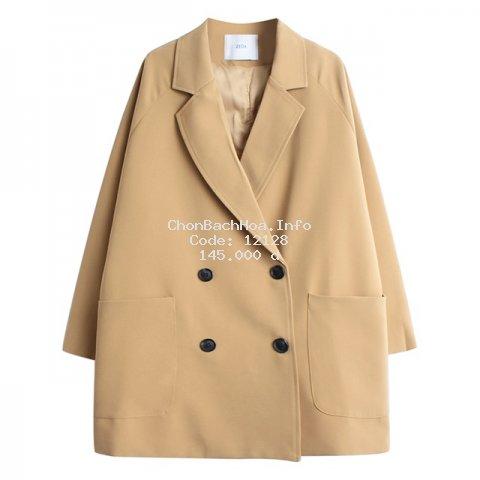 Áo Blazer Vest Nữ 1 Lớp Khoác Ngoài Dài Tay Nhiều Màu Kiểu Dáng Trẻ Trung - A.016