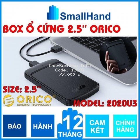 Box ổ cứng 2,5inch Orico 2020U3 Sata3 – USB3.0 – CHÍNH HÃNG – Bảo hành 12 tháng – Box HDD – Box SSD