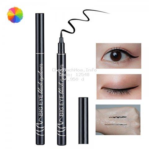 Bút kẻ mắt dạng lỏng màu đen chống thấm nước và không bị nhòe