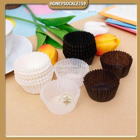 Cup giấy mini lót socola/lót bánh 100 cái