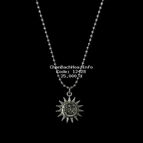 Dây chuyền hình mặt trời phong cách Harajuku