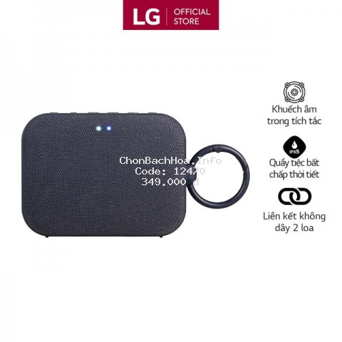 Loa Bluetooth di động LG XBOOMGo PN1 - Hàng chính hãng