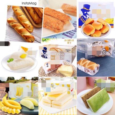 [Mã GROMST12 hoàn 8% đơn 199K] [TPHCM] Bánh Đài Loan mix các loại bánh ngọt