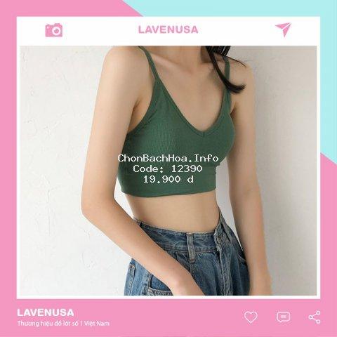 [Mã WARN10 giảm 10k đơn 50k] Áo bra hở lưng chữ U hai dây trẻ trung cá tính AL14