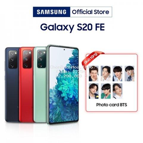[Nhập ELSSMT800 giảm 800K] Điện thoại Samsung Galaxy S20 FE (8GB/128GB) - Hàng Chính Hãng