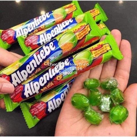 Phong kẹo Alpenliebe xoài nhân muối ớt/ hồng trà sữa/dâu dưa hấu
