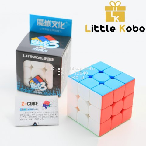 Rubik 3x3 Moyu Meilong 3 MFJS Rubic 3 Tầng Stickerless