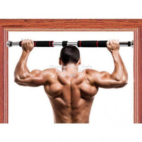 Xà đơn treo tường, gắn cửa không cần bắt vít nhiều kích thước có độ dài tùy chỉnh phù hợp tập gym tại nhà tăng cơ bắp