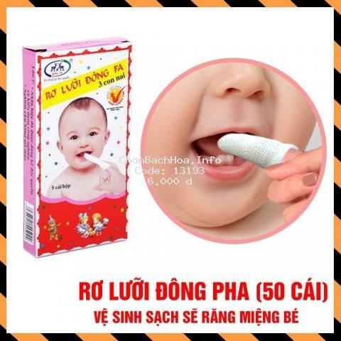 (10 hộp 50 cái) Rơ Lưỡi Đông Pha