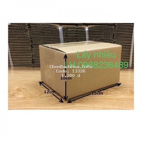15x12x10 hộp carton đóng hàng giá rẻ