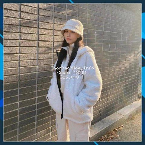 Áo khoác dạ lông xù, áo khoác nữ đẹp, chất vải đẹp, kiểu dáng thời trang, hàng đẹp, may kỹ, có đủ size .
