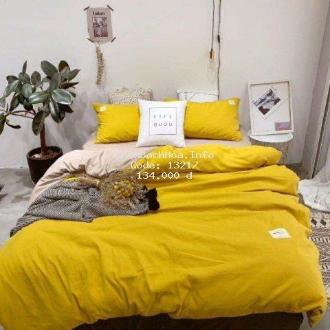 Bộ chăn ga cotton Tici cao cấp nhập khẩu Hàn Quốc đủ size đủ màu (không kèm ruột)