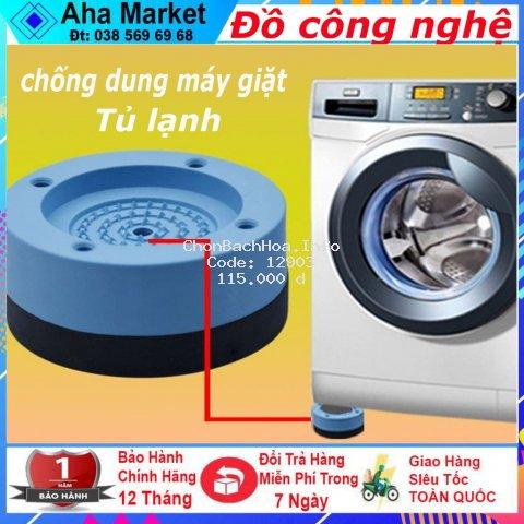 Bộ Chống Dung Máy Giặt - Giá Đỡ - Kê Chân Chống Dung Máy Giặt / Tủ Lạnh Chống Trượt Chống Sốc Tiện Dụng