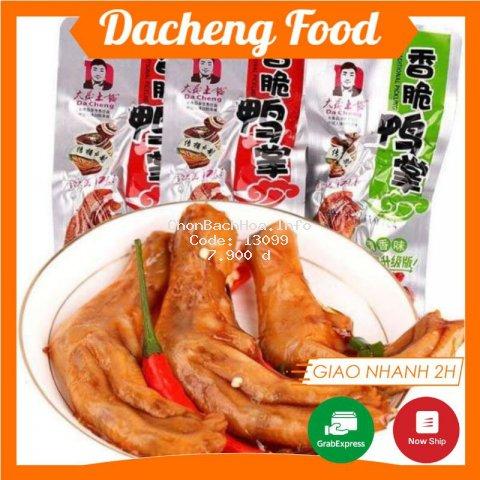 Chân vịt cay DaCheng ❤️FREESHIP❤️ Chân Vịt đặc sản Phúc Kiến - Chân Vịt Dacheng Ăn Vặt Trung Quốc