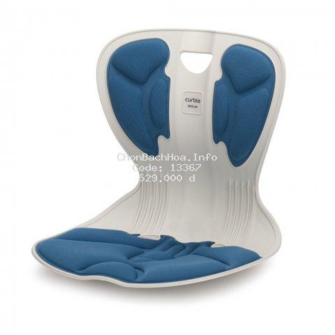 [CHÍNH HÃNG ABLUE ] Ghế Curble Comfy Blue điều chỉnh tư thế ngồi chuẩn, Hỗ trợ giảm áp lực cho cột sống - Made in Korea