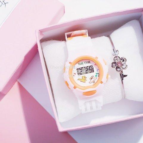 Đồng hồ cho bé thông minh đẹp dây cao su DH81