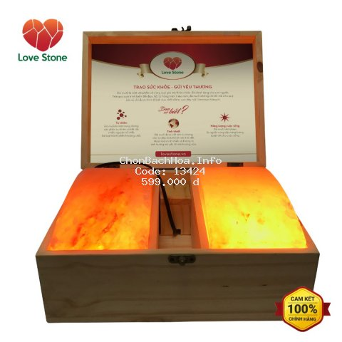 Hộp Đá Muối Massage Chân LoveStone Magic - Hàng Chính Hãng