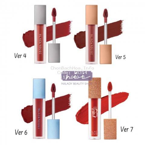 [Mã COSHOT27 giảm 10% đơn 300K] (A18 đến A37) Son Black Rouge Air Fit Velvet Tint