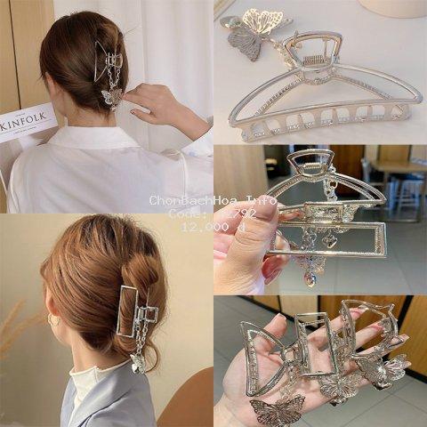 [Mã FACB201 hoàn 15% tối đa 30K xu đơn 50K] Kẹp tóc hình bướm phong cách Hàn Quốc xinh xắn dành cho nữ
