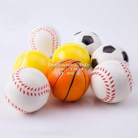 [Mã TOYJAN hoàn 20K xu đơn 50K] Đồ chơi bóp nén giảm căng thẳng mô phỏng các quả bóng thể thao