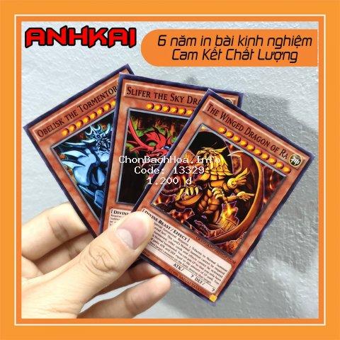 [Mã TOYJAN hoàn 20K xu đơn 50K] In bài Yugioh ❤️AnhKAI❤️ Thẻ bài Yugioh in 2 mặt theo yêu cầu