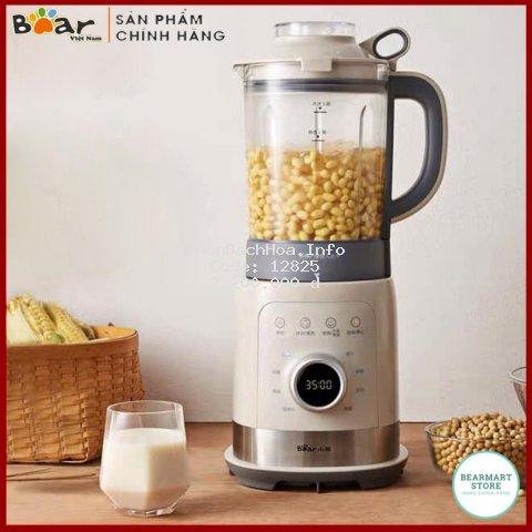 Máy làm sữa hạt, Máy nấu sữa hạt BEAR Model PBJ-B10U5, Dung tích 1,5L. BẢO HÀNH CHÍNH HÃNG 12 THÁNG