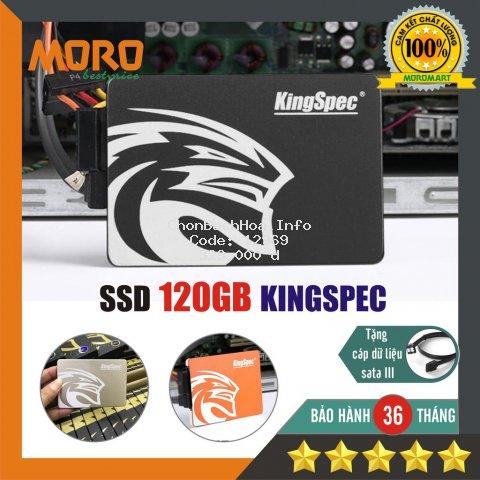 Ổ cứng SSD 120GB KingSpec / Suneast / Gloway - Sản phẩm chính hãng - Bảo hành 36 tháng !