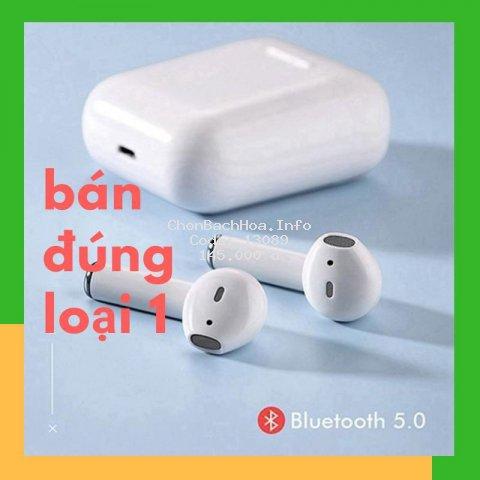 Tai Nghe Bluetooth không dây 5.0 Cảm Ứng Cực Nhạy Tăng Chỉnh Âm Lượng 1 Đổi 1 Trong 30 Ngày
