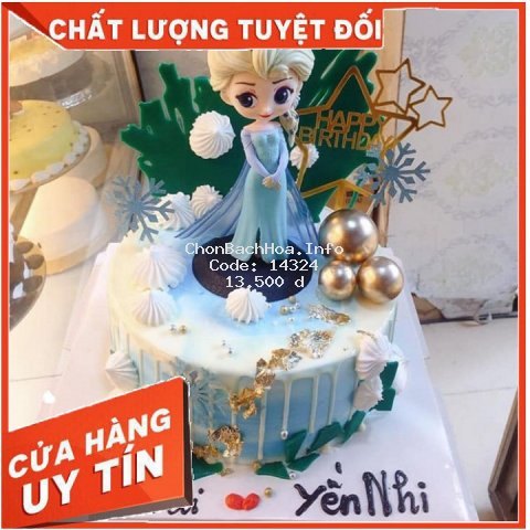 [ CHỈ GIẢM GIÁ 1 NGÀY ] Bup Be ELSA trang trí bánh kem, bánh sinh nhật hoặc làm đồ chơi cho bé