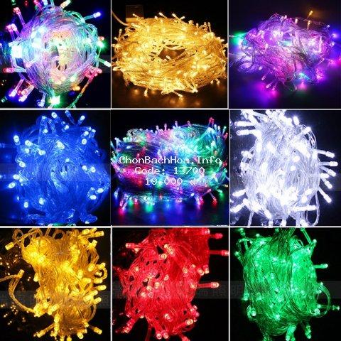Đèn Nhấp Nháy 5m Trang Trí Nhiều Màu, Hàng Loại 1, Ánh Sáng Đẹp
