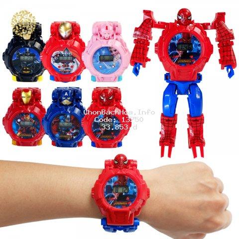 Đồng hồ robot biến hình dành cho bé trai
